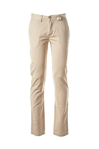 Pantalon casual beige CROSSBY pour homme
