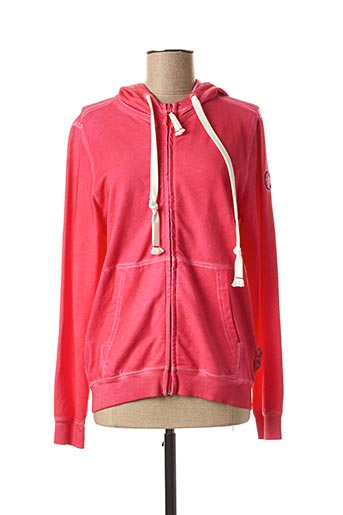 Veste casual rose FRENCH TERRY pour femme