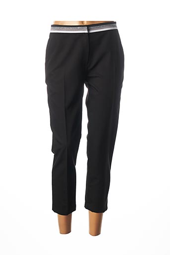 Pantalon 7/8 noir JULIE GUERLANDE pour femme