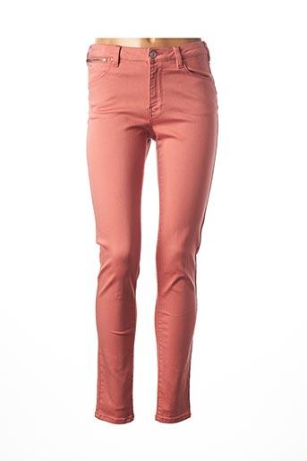 Pantalon casual rose C'EST BEAU LA VIE pour femme