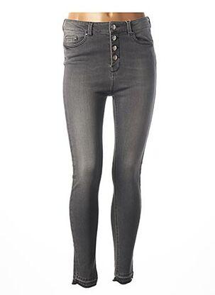 Jeans skinny noir C'EST BEAU LA VIE pour femme