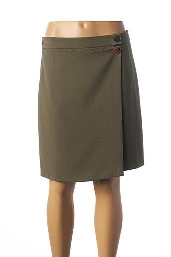 Jupe courte vert MEXX pour femme