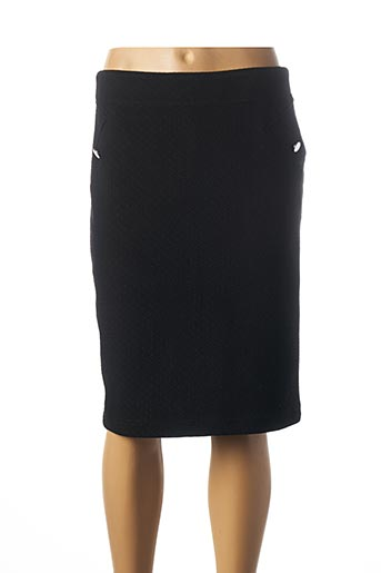 Jupe mi-longue noir DIANE LAURY pour femme