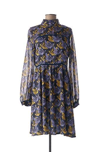 Robe mi-longue bleu MEXX pour femme