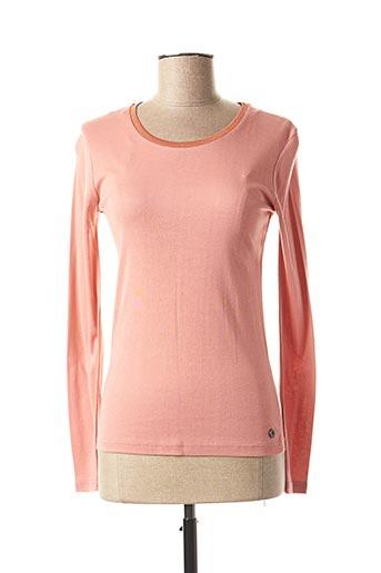 T-shirt manches longues rose C'EST BEAU LA VIE pour femme