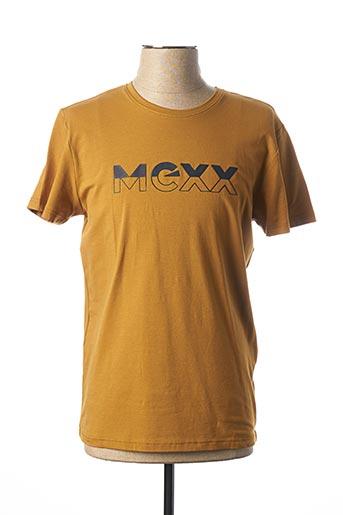 T-shirt manches courtes vert MEXX pour homme