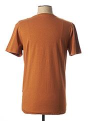 T-shirt manches courtes marron MEXX pour homme seconde vue
