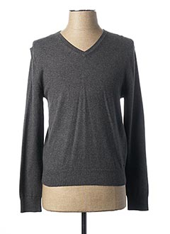 Pull col V gris MEXX pour homme