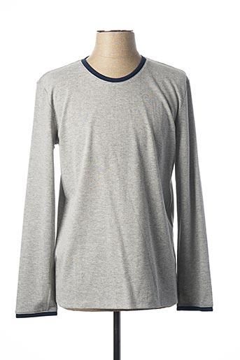 T-shirt manches longues gris MEXX pour homme