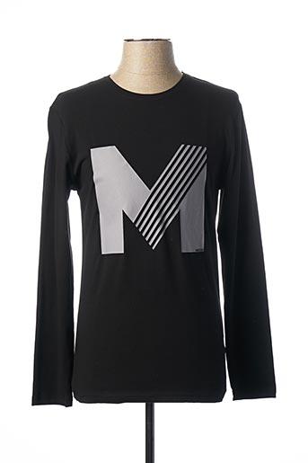 T-shirt manches longues noir MEXX pour homme