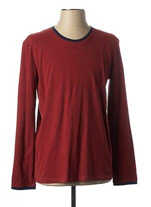 T-shirt manches longues rouge MEXX pour homme