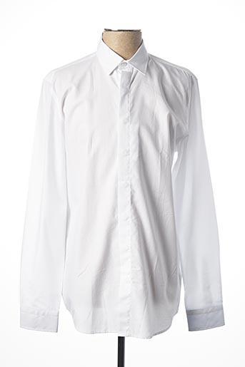 Chemise manches longues blanc MEXX pour homme