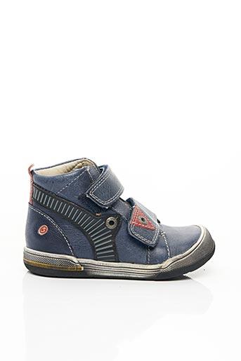Bottines/Boots bleu GBB pour garçon