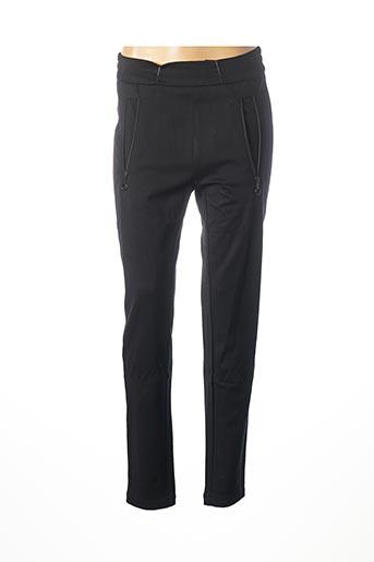 Pantalon casual noir ANNA MONTANA pour femme