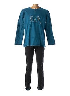 Pyjama bleu CHRISTIAN CANE pour homme