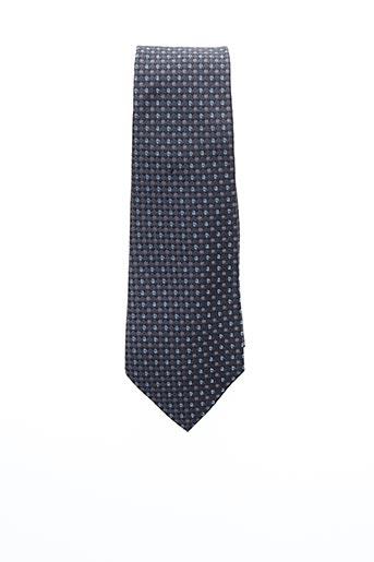 Cravate gris PIERRE CARDIN pour homme