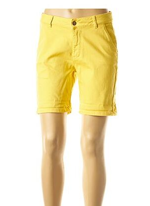 Bermuda jaune MAISON 123 pour femme