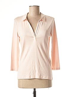 T-shirt manches longues rose 1 2 3 pour femme