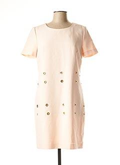 Robe courte rose 1 2 3 pour femme