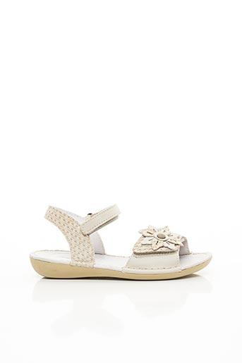 Sandales/Nu pieds beige KICKERS pour fille