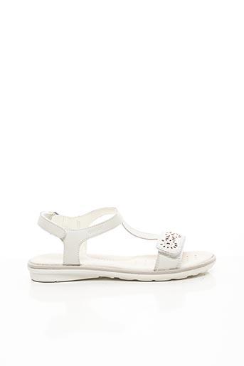Sandales/Nu pieds blanc GEOX pour fille