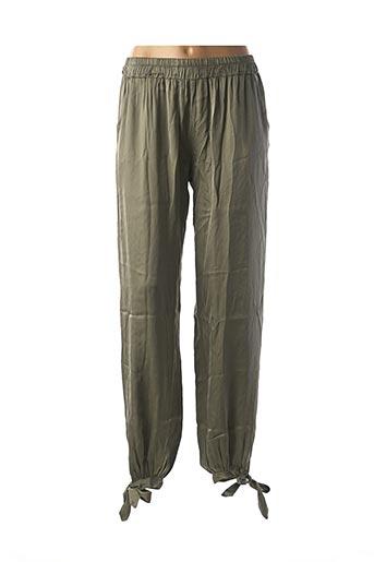Pantalon casual vert BSB pour femme