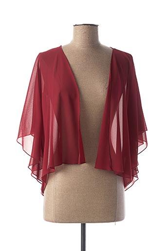 Veste casual rouge DANIELA COOL pour femme