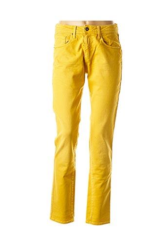 Pantalon casual jaune LE PETIT BAIGNEUR pour femme