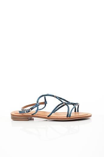 Sandales/Nu pieds bleu CHICMUSE pour femme