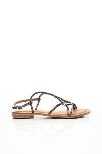 Sandales/Nu pieds gris CHICMUSE pour femme