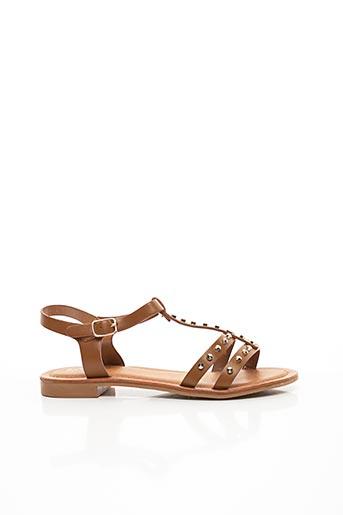 Sandales/Nu pieds marron CHICMUSE pour femme