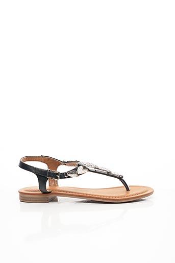 Sandales/Nu pieds noir CHICMUSE pour femme