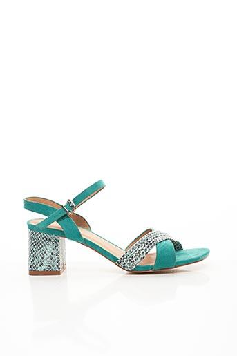 Sandales/Nu pieds vert CHICMUSE pour femme
