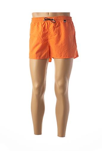 Short de bain orange HOM pour homme