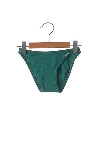 Bas de maillot de bain vert NAF NAF pour fille