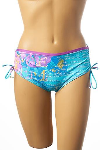 Bas de maillot de bain bleu ESSERE pour femme