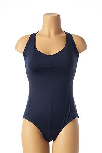 Haut de maillot de bain bleu IODUS pour femme