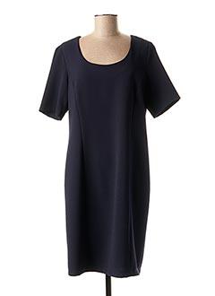 Robe mi-longue bleu ANNE KELLY pour femme