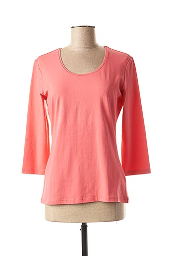 T-shirt manches longues rose BETTY BARCLAY pour femme