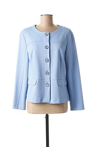 Veste casual bleu SOMMERMANN pour femme