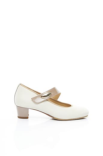 Chaussures de confort beige HASSIA pour femme