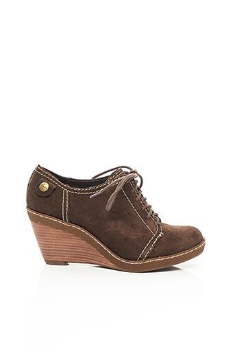 Bottines/Boots marron CLARKS pour femme