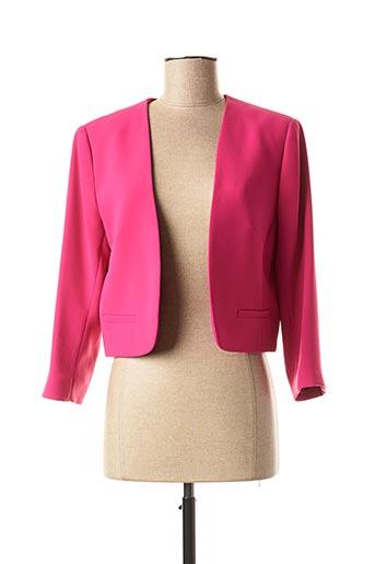 Veste casual rose ANTONELLE pour femme