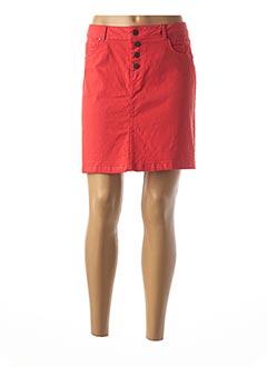 Jupe courte rouge BEST MOUNTAIN pour femme