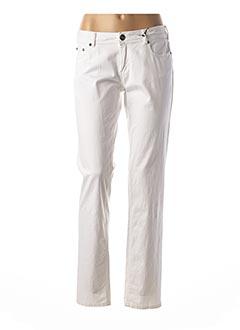 Pantalon casual blanc BEST MOUNTAIN pour femme