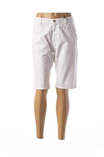 Bermuda blanc IMPAQT pour femme