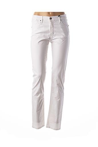Pantalon casual blanc IMPAQT pour femme