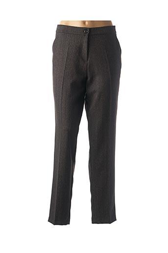 Pantalon chic gris FEMMES JE VOUS AIME pour femme