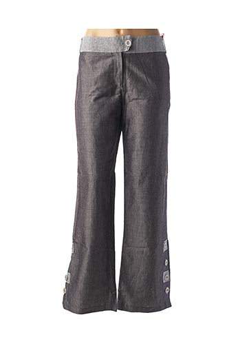 Pantalon casual gris FEMMES JE VOUS AIME pour femme
