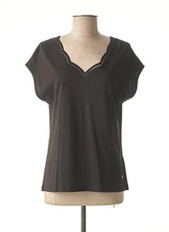 T-shirt manches courtes noir KATMAI pour femme